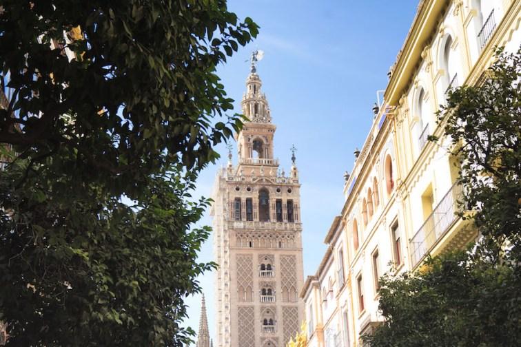 La Torre de la Giralda en Sevilla