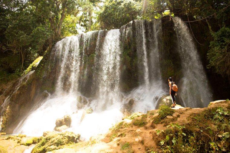 La cascada del Nicho, en el Parque Natural de Collantes, entre Cienfuegos y Trinidad