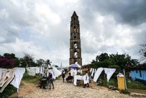 La torre de Manaca Iznaga en el Valle de los ingenios, Trinidad