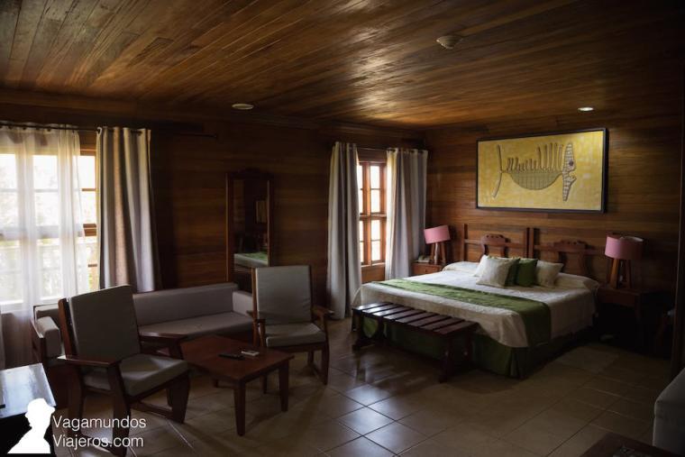 Habitación en el hotel Cayo Levisa, Cuba