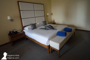 Dormitorio de nuestra habitación en el hotel Memories Miramar de La Habana, Cuba