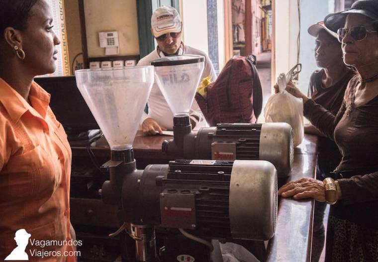 Café O'Reilly en La Habana, Cuba