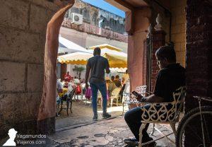 Restaurantes del callejón del Chorro, en La Habana, con conexión wifi a internet