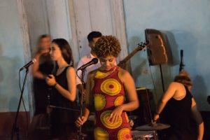 Concierto en la calle en Trinidad, Cuba