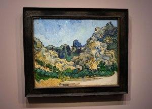Cuadro de Van Gogh en la exposición de la Colección Tannhauser en el Hotel du Caumont, Aix en Provence