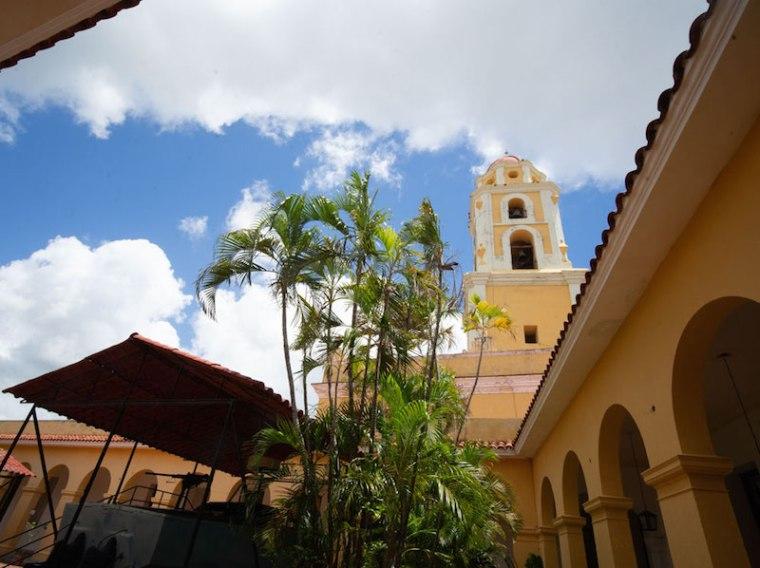 Campanario del Convento de San Francisco, hoy Museo de los Bandidos, en Trinidad
