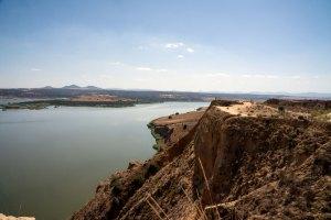 Sendero con miradores para recorrer las barrancas de Burujón en Toledo