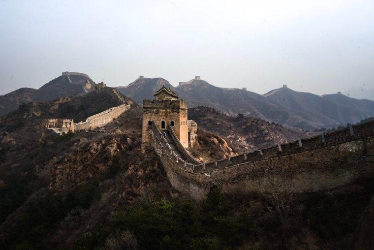 Sección de Jinshanling, en la Gran Muralla China