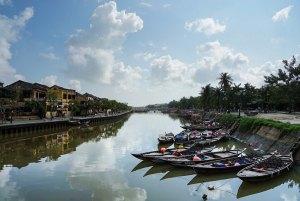El río Thu Bon en Hoi An, Vietnam