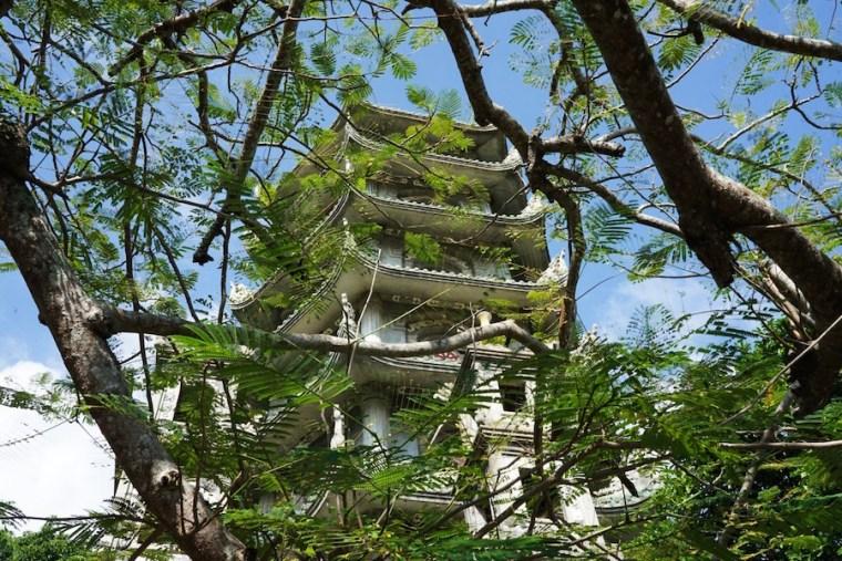 Torre Xa Loi en la Montaña de Agua, Danang