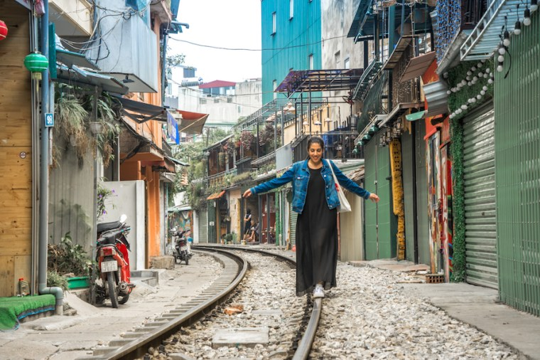 Train Street en Hanoi