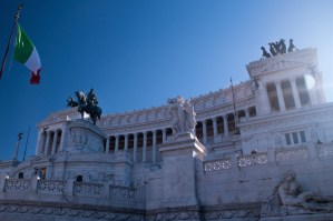 Monumento a Víctor Manuel II en Roma