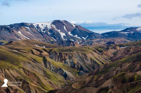 Montañas de colores en Landmannalaugar, Tierras Altas de Islandia