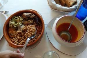 Cocido lebaniego, característico de la gastronomía de Cantabria