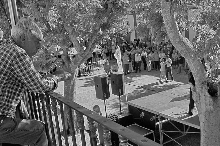 Una fiesta popular en Évora