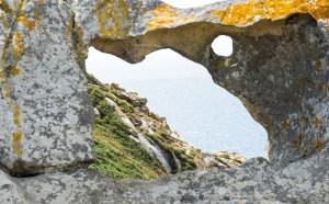 Pedra da Campá, una ventana en la roca hecha por la erosión