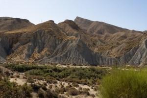 Paisajes del desierto de Tabernas, Almería
