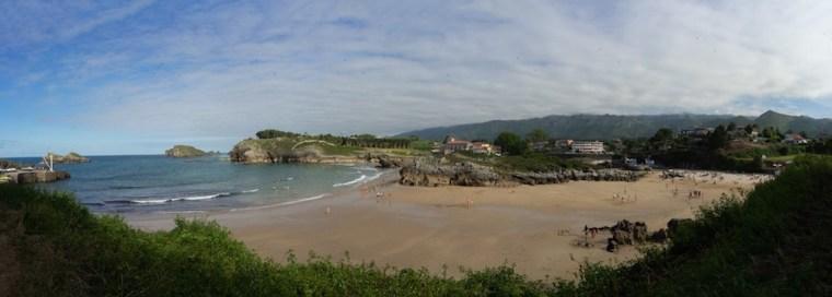 Playa de Palombina en Celorio, Llanes, Asturias