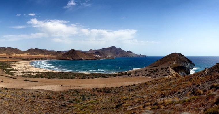 Playa de los Genoveses en Cabo de Gata, Almería