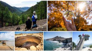 Collage resumen de nuestros viajes en 2020