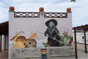 Mural en El Paso, La Palma
