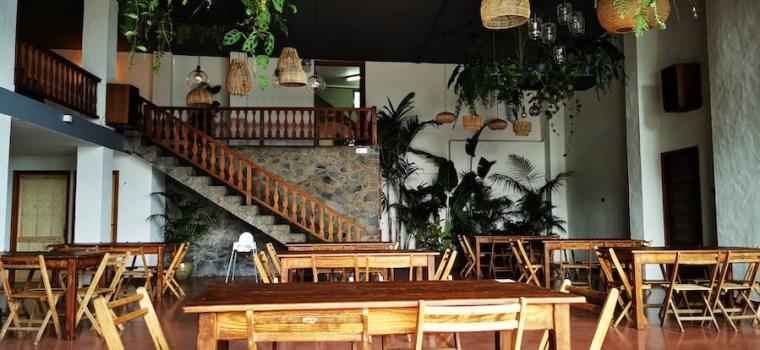 Uno de los salones del restaurante Chipi Chipi en Santa Cruz de La Palma
