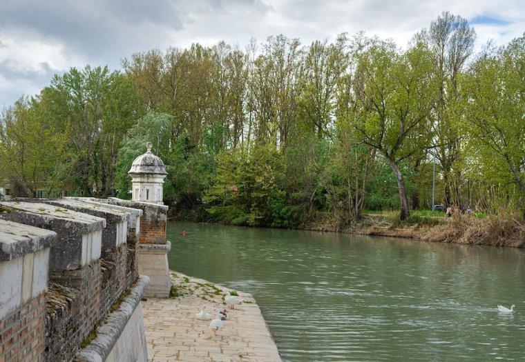Embarcadero al río Tajo en el Jardín de la Isla, Aranjuez