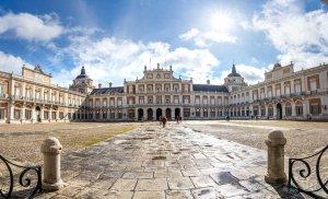 Entrada principal al Palacio Real de Aranjuez