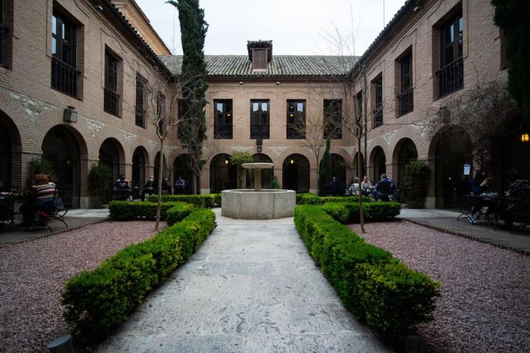 Antiguo Convento de los Agustinos, hoy Parador Nacional, en Chinchón, Madrid