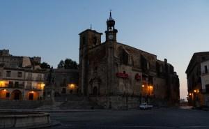 Iglesia de San Martín en la Plaza Mayor de Trujillo