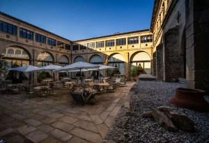 Parador construido sobre el Convento de Santa Clara del siglo XVI