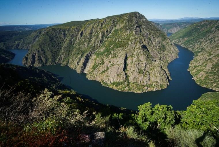Mirador de Vilouxe en la orilla de Ourense