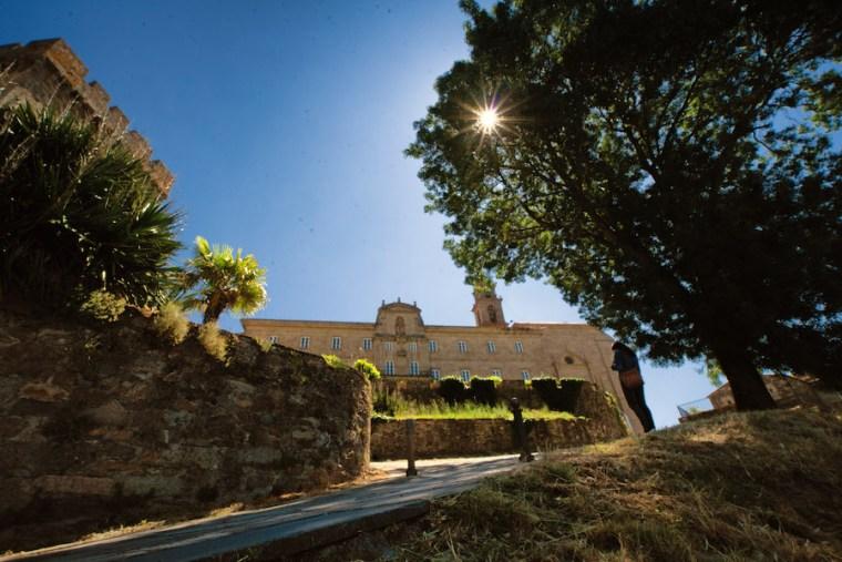 Monasterio de San Vicente del Pino, actual Parador de Monforte de Lemos