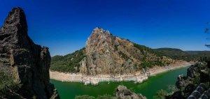 Panorámica en el mirador del Salto del Gitano, Monfragüe