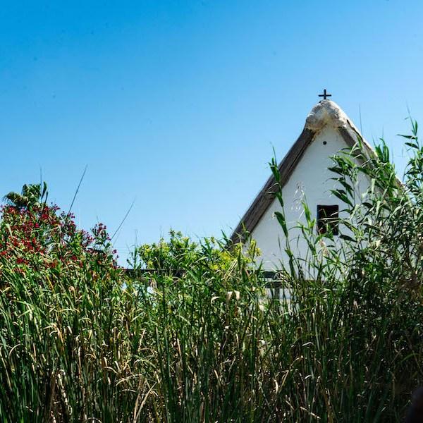 Barraca, casa tradicional de pescadores, en la Albufera