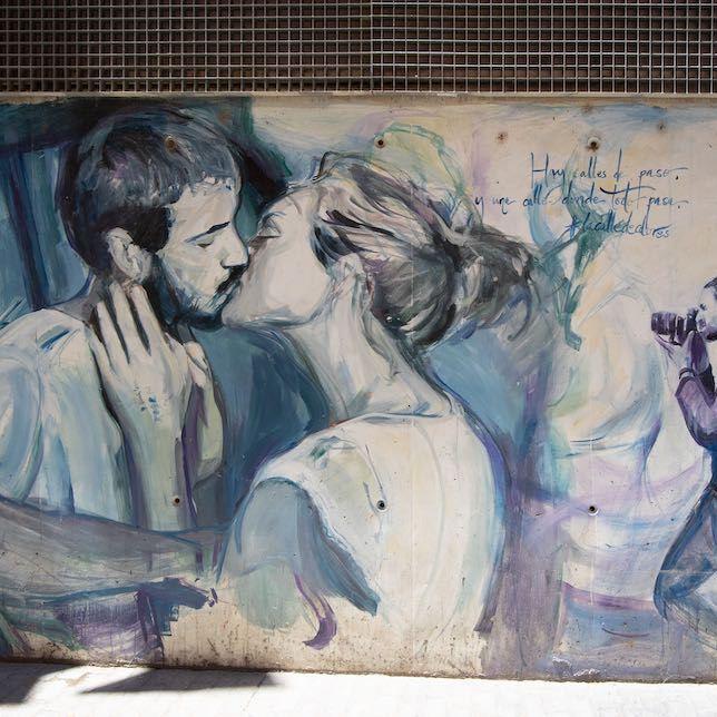 Mural en la Calle de Colores, barrio del Carmen, Valencia