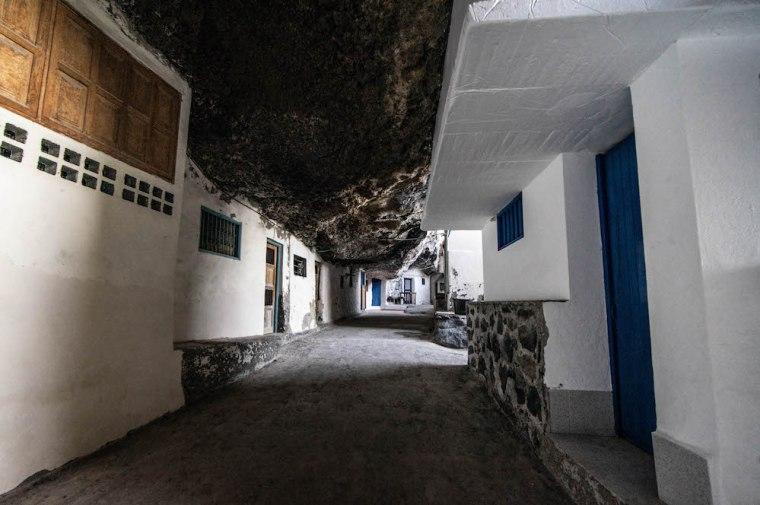 """Caminando por las """"calles"""" de Porís de Candelaria, La Palma"""