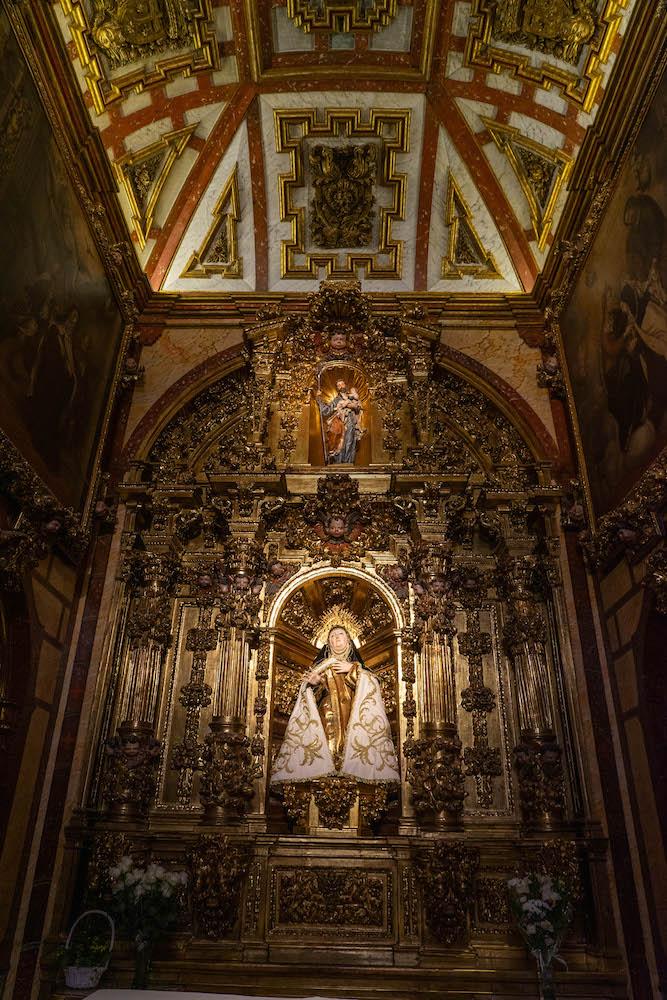 Capilla natal de Santa Teresa de Jesús en su iglesia, Ávila