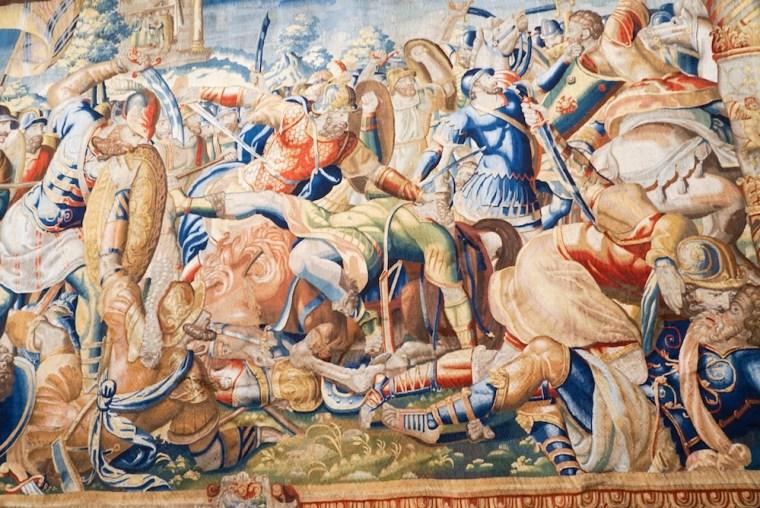 Museo de Tapices en el interior de la Catedral del Salvador o Seo de Zaragoza