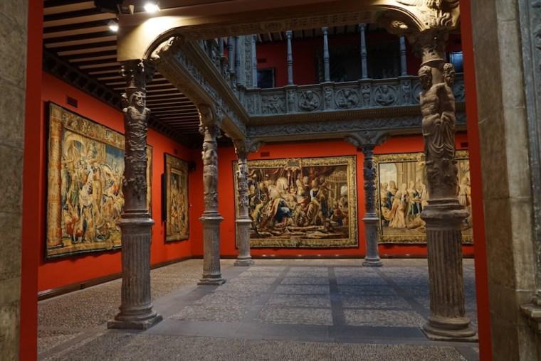 Patio de la Infanta, joya del Renacimiento, en Zaragoza