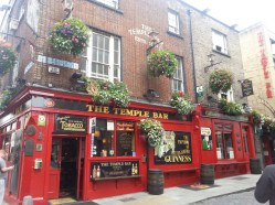 El mítico Temple Bar en Dublín