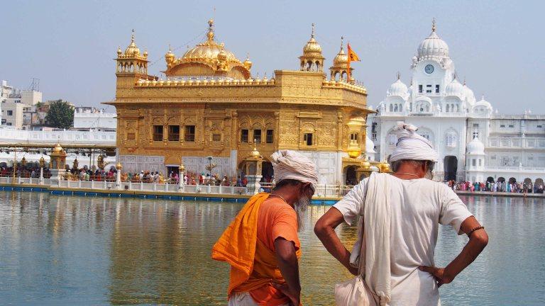 El Templo Dorado de Amritsar