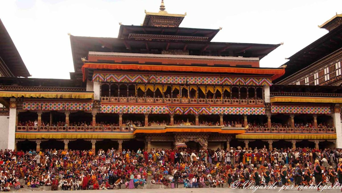 Festivales En Bhutan:Los Tshechu