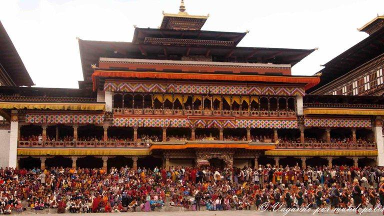 Festivales En Bhutan.Los Tshechu