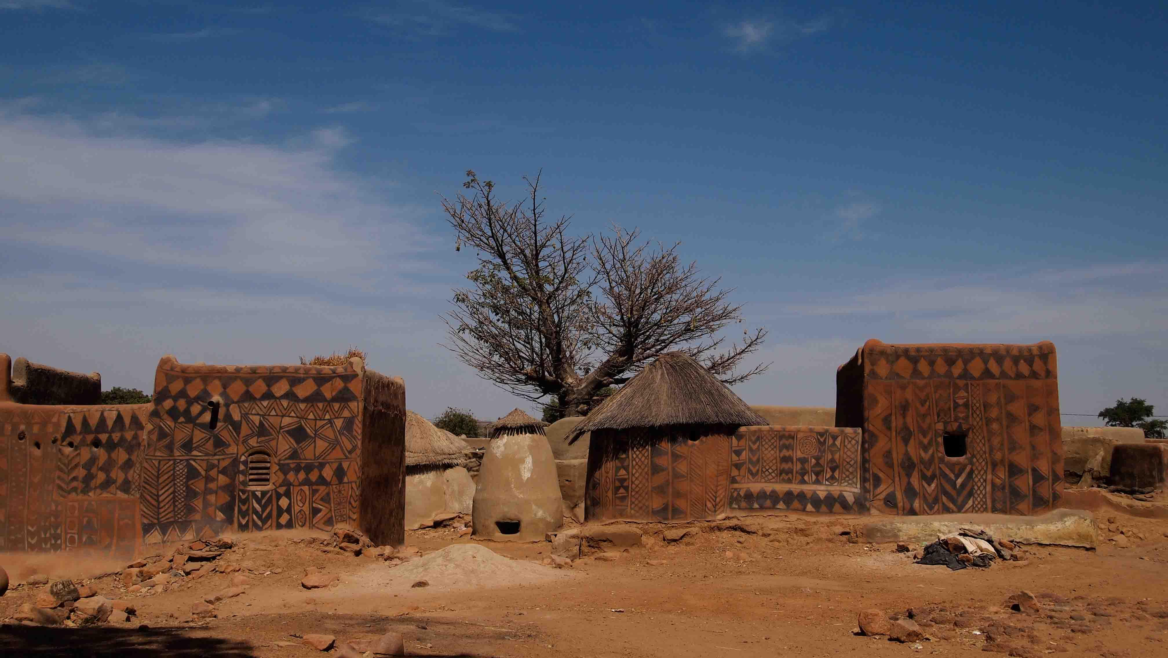 Tiebele-Burkina-Faso