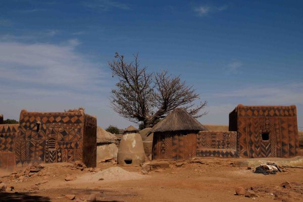 Tiebele, el pueblo más bonito de Burkina Faso