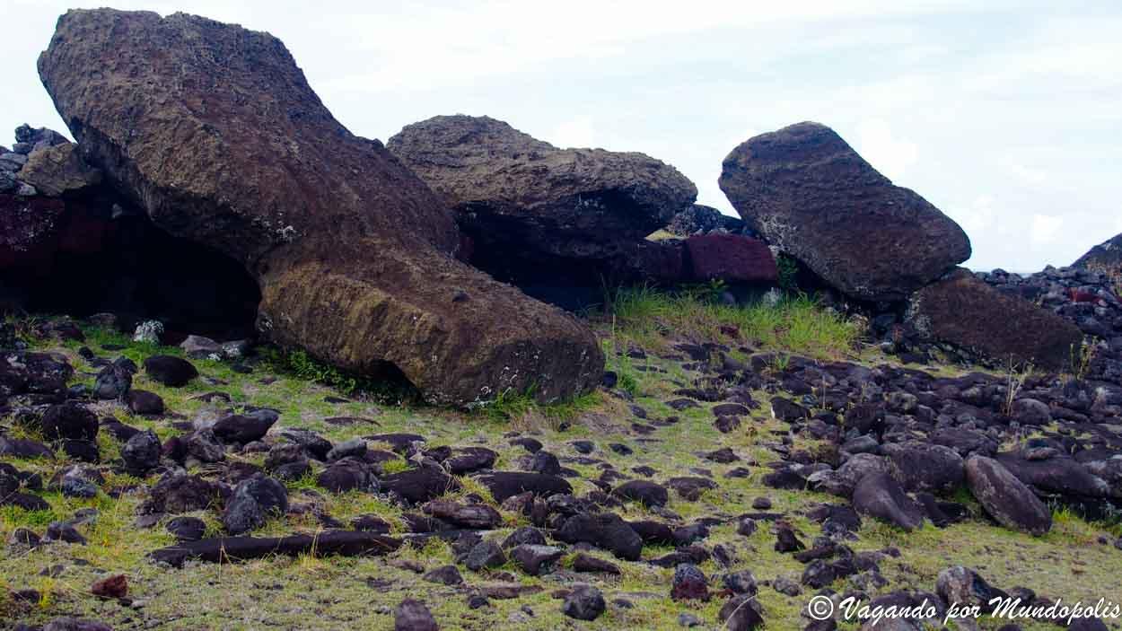 Moais-Isla Pascua