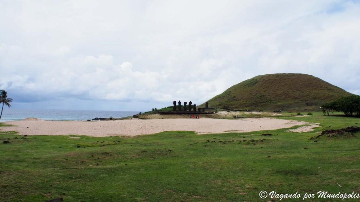 Anakena-Isla de Pascua