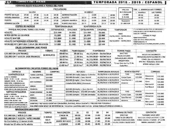 horarios-y-precios-torres-del-paine-2019