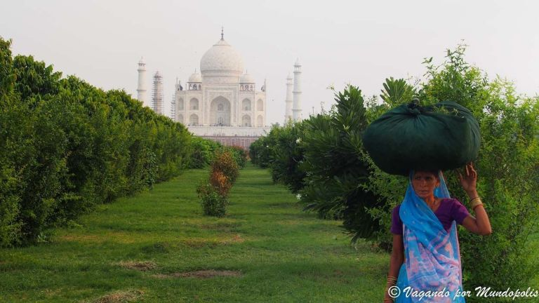 Visita al Taj Mahal el Icono de la India